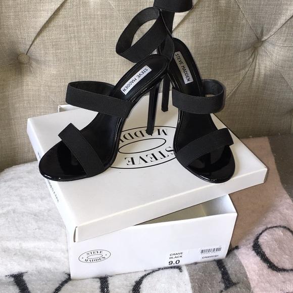 fd65b36f125 Steve Madden Crave black heels
